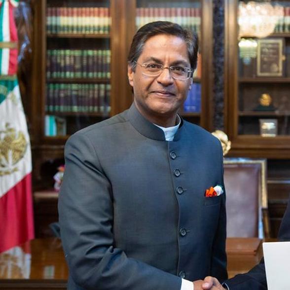 Embajador de la India en MéxicoManpreet Vohra